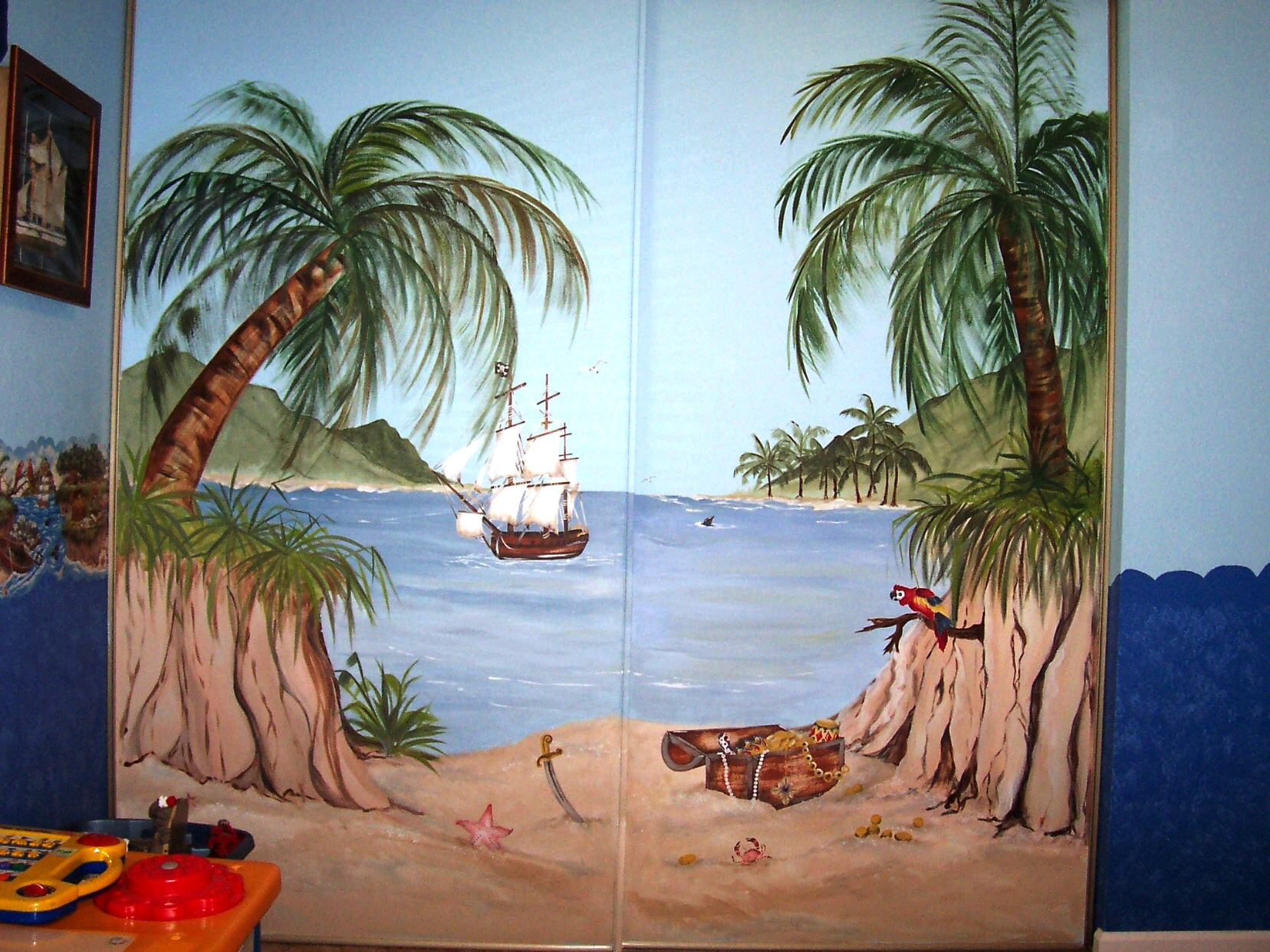 Childrens Painted Wall Murals Cathies Murals