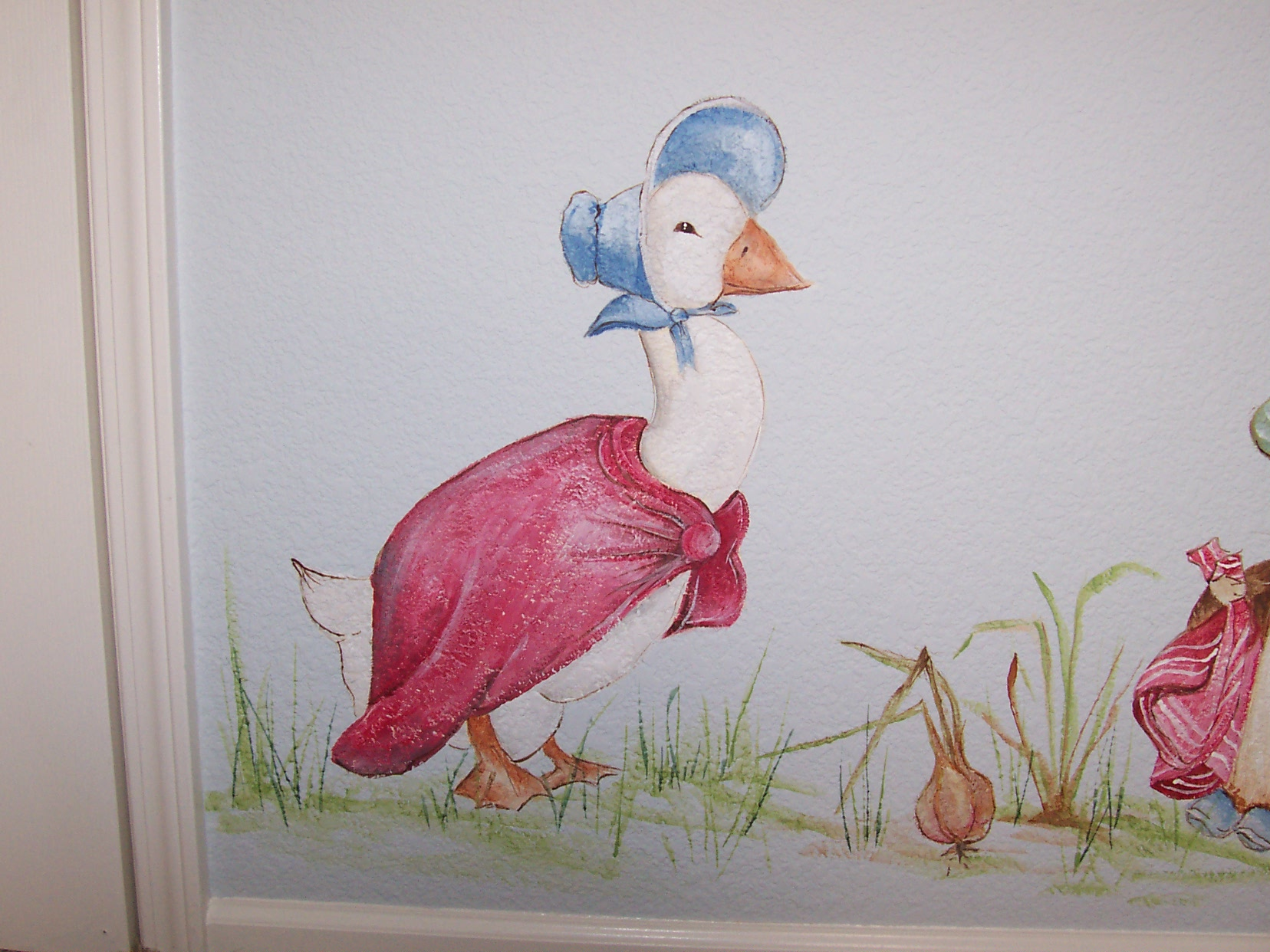 100 beatrix potter murals decorating theme beatrix for Beatrix potter mural wallpaper