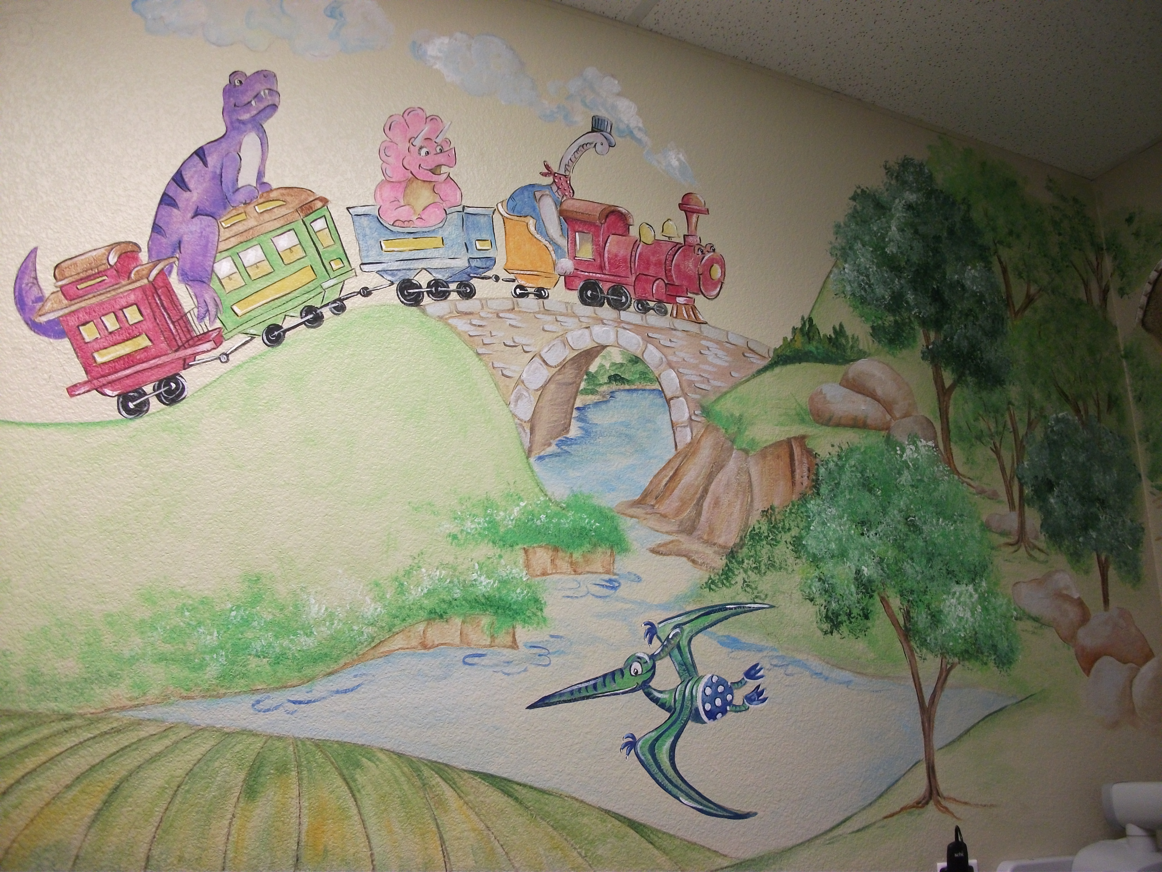 commercial murals cathie s murals wall decor wall murals wall coverings commercial wall