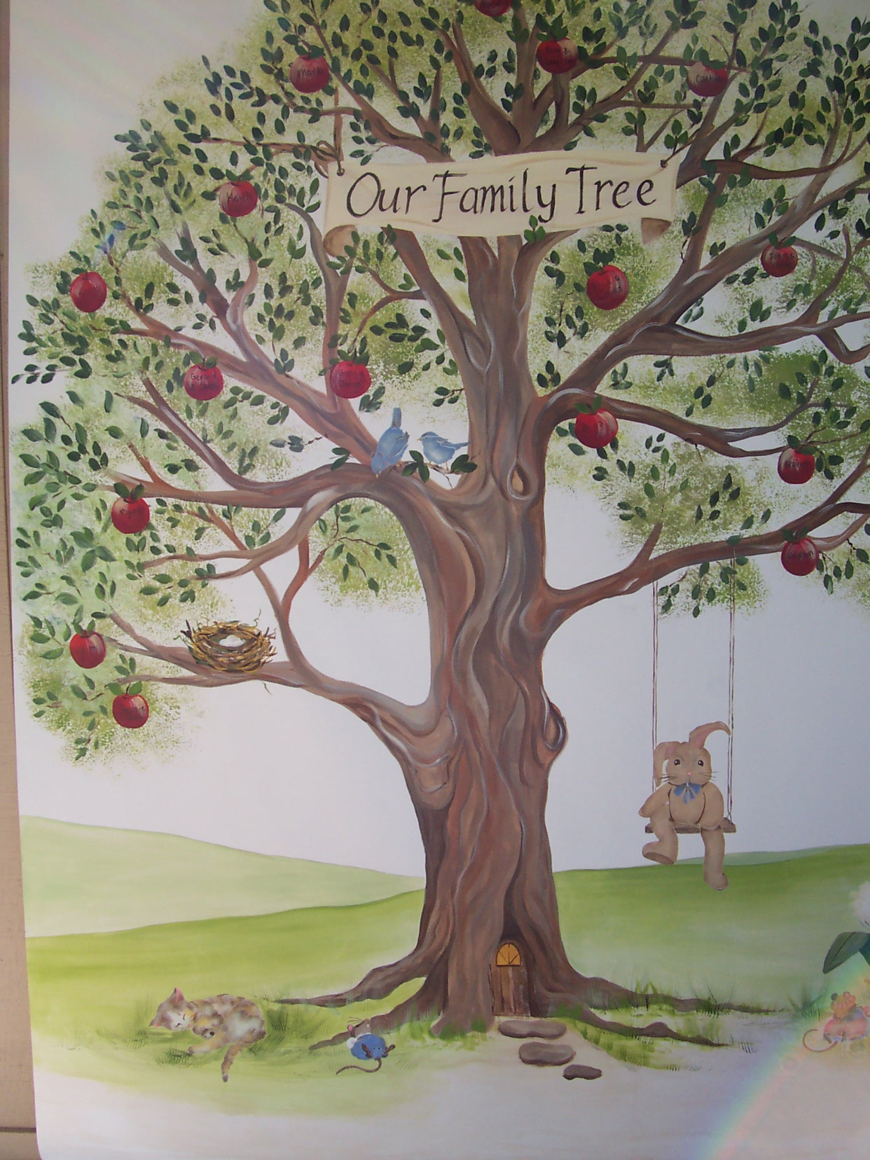 Childrens Painted Wall Murals Cathie S Murals
